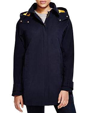 Vince Camuto Hooded Zip Front Stadium Coat plus size,  plus size fashion plus size appare