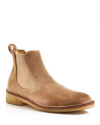 John Varvatos Star USA - Men's Hipster Crepe Chelsea Boots