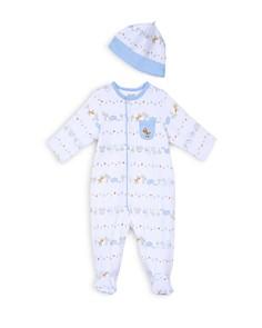 Little Me Boys' Safari Print Footie & Hat Set - Baby - Bloomingdale's_0