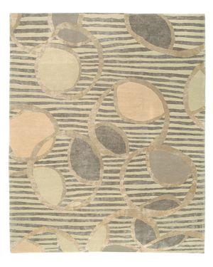 Tufenkian Artisan Carpets Ione Silver Moon Area Rug, 8'9 x 11'6