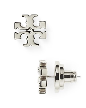 Tory Burch - Logo Stud Earrings