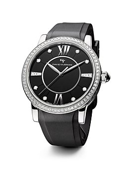 David Yurman - Rubber Classic Swiss Quartz Watch, 38mm