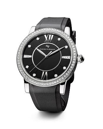 David Yurman - Rubber Classic Swiss Quartz Watch, 38mm
