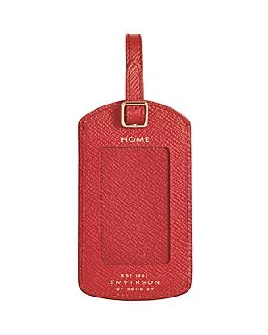 Smythson Luggage Label