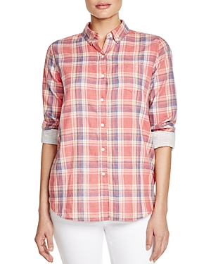Birds of Paradis Classic Plaid Shirt