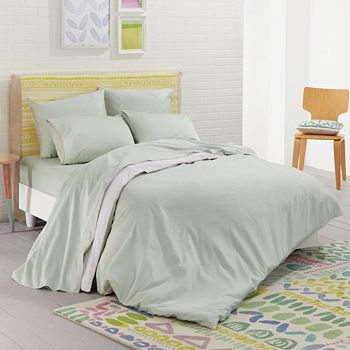 bluebellgray - Nessa Solid Reversible Bedding Collection - 100% Exclusive