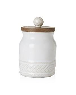 Juliska - Le Panier Whitewash Sugar Pot