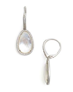 Nadri Mother-of-Pearl Drop Earrings - 100% Exclusive