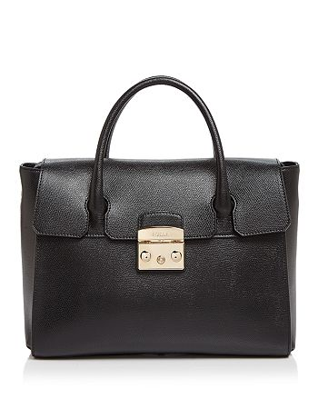 Furla - Metropolis Medium Leather Satchel