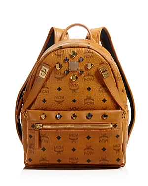 mcm female mcm small dual stark backpack