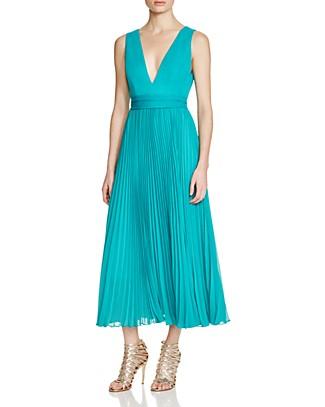 Alice + Olivia Ryn Pleated Dress   Bloomingdale\'s