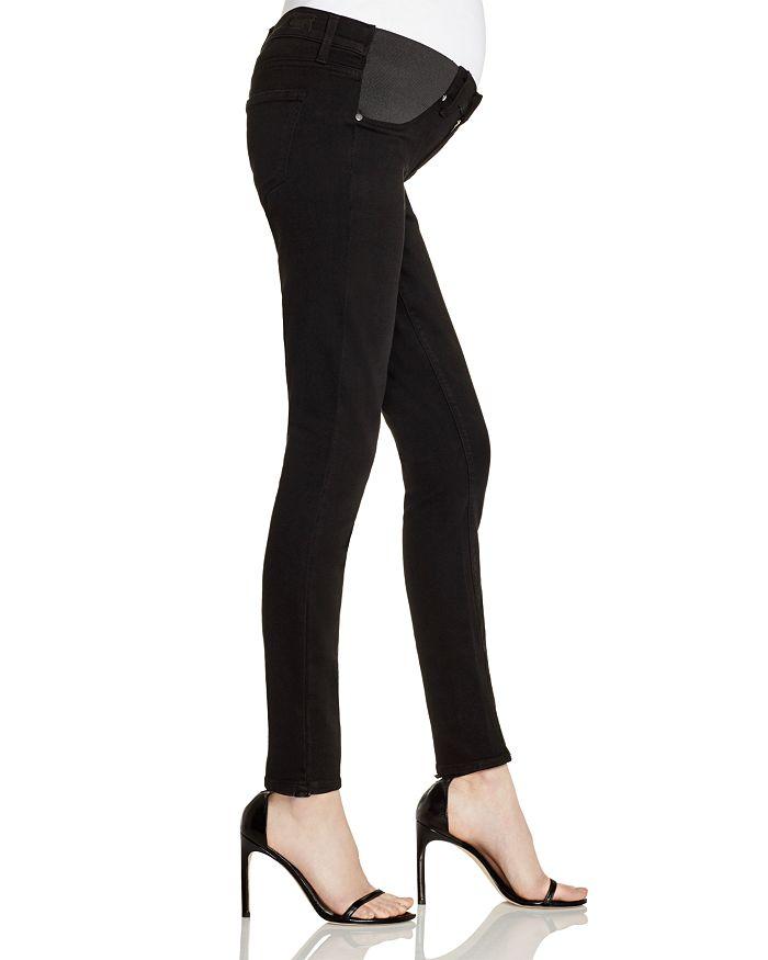 043d6284caa59 PAIGE Denim Verdugo Skinny Maternity Jeans in Black Shadow ...