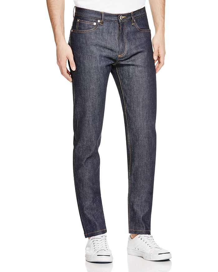 A.P.C. - Petit New Standard Slim Fit Jeans in Indigo Stretch