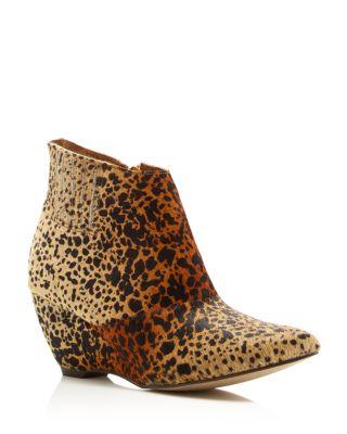 Matisse Nugent Leopard Print Calf Hair