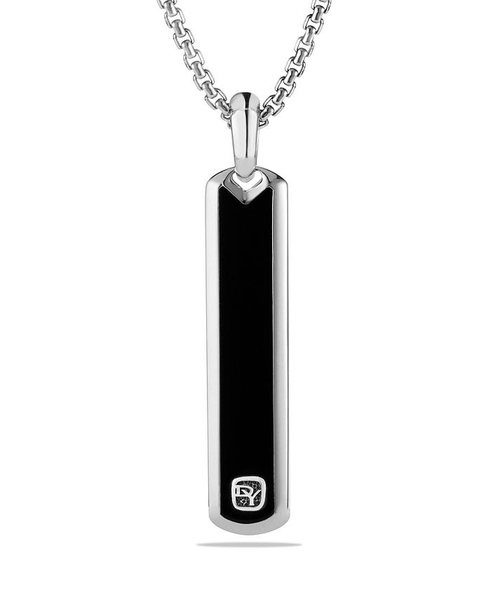 David Yurman - Exotic Stone Tag with Black Onyx