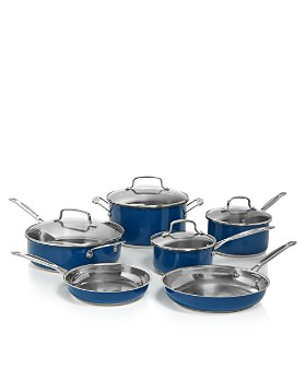 Cuisinart - Stainless Steel Chef's Classic 10-Piece Cookware Set