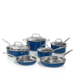 Cuisinart Stainless Steel Chef's Classic 10-Piece Cookware Set 1645876
