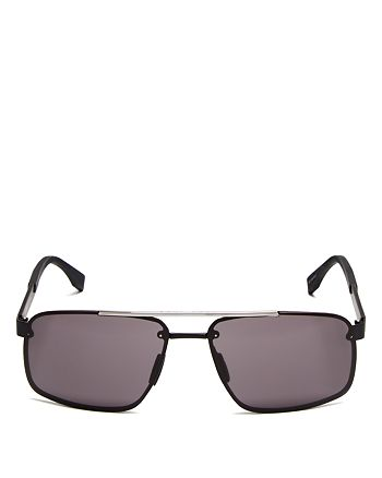 HUGO - Men's 0773/S Naviator Sunglasses, 63mm