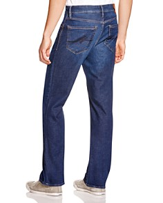 34 Heritage - Charisma Comfort-Rise Classic Straight Fit Jeans in Dark Cashmere