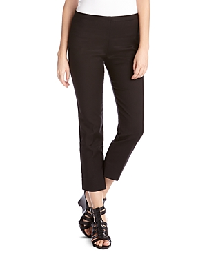 Karen Kane Straight Leg Cropped Pants