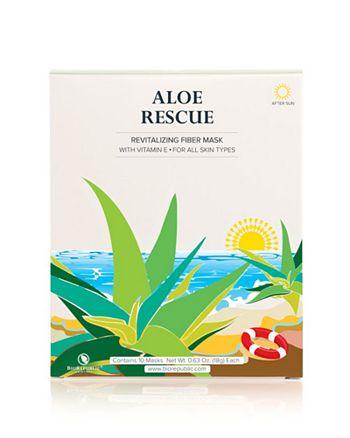 BioRepublic - Aloe Rescue Revitalizing Fiber Sheet Mask, Box of 10