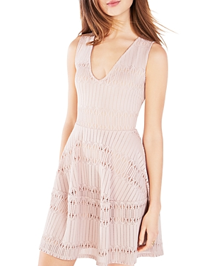 Bcbgmaxazria Abstract Lace Amberly Dress