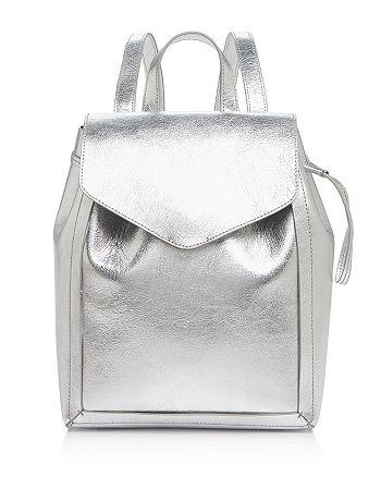 Loeffler Randall - Mini Metallic Backpack