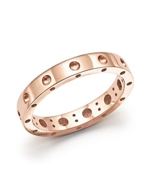 Roberto Coin 18K Rose Gold Symphony Dotted Ring