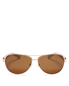 kate spade new york - Women's Polarized Dalia Sunglasses, 58mm