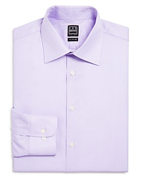 Ike Behar - Mini Box Check Classic Fit Dress Shirt