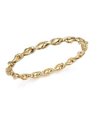 Twist Slip-on Bangle Bracelet in 14K Yellow Gold - 100% Exclusive
