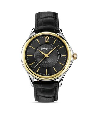 Salvatore Ferragamo Time Two-Tone Automatic Watch, 33mm