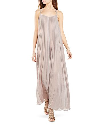 BCBGMAXAZRIA - Isadona Pleated Maxi Dress