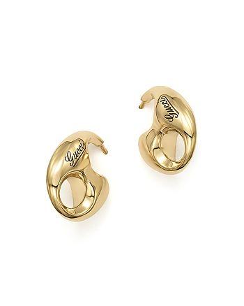 Gucci - 18K Yellow Gold Marina Chain Earrings