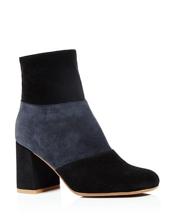 See by Chloé - Women's Pendragon Color Block Booties