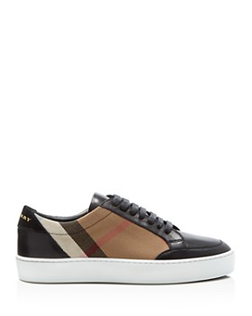 Burberry - Women's Salmond Lace Up Sneakers