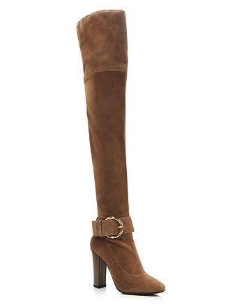 93d2d691643 Giuseppe Zanotti Women s Alabama Suede Over-the-Knee Boots ...