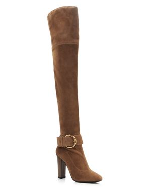 Giuseppe Zanotti Women's Alabama Suede Over-the-Knee Boots