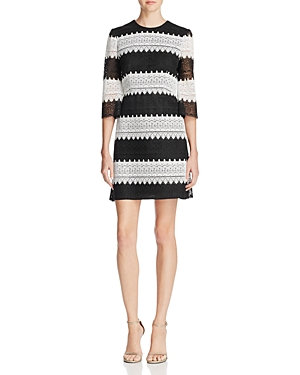 Jill Jill Stuart Crochet Lace Dress