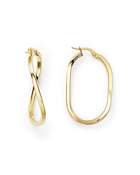 Roberto Coin - 18 K Yellow Gold Earrings
