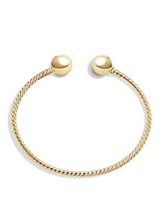 David Yurman - Solari Bead Cuff Bracelet in 18K  Gold