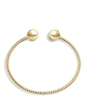 David Yurman - Solari Bead Cuff Bracelet in 18K  Gold