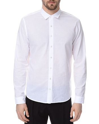 ATM Anthony Thomas Melillo - Classic Cotton Slim Fit Button-Down Shirt