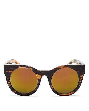 Quay - Women's Mirrored Right Time Sunglasses, 50mm