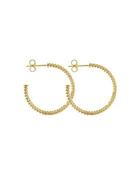 LAGOS - LAGOS 18K Gold Hoop Earrings