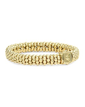 LAGOS - Caviar Gold Collection 18K Gold Rope Bracelet