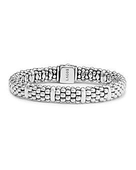 LAGOS - Sterling Silver Caviar Beaded Rope Bracelet