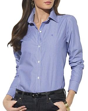 Lauren Ralph Lauren Pinstripe Poplin Shirt
