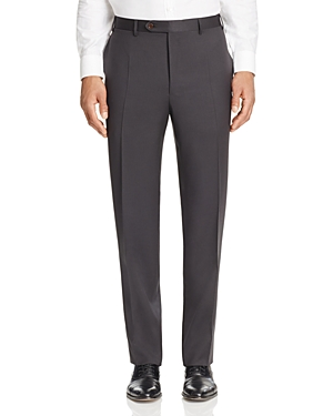 Canali Siena Classic Fit Wool Trousers