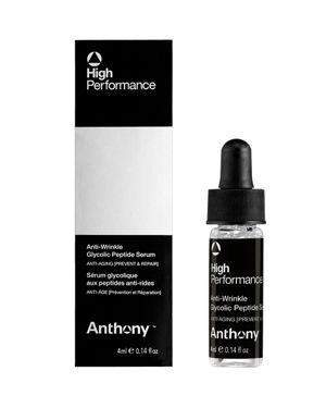 ANTHONY Men'S High Performance Anti-Wrinkle Glycolic Peptide Serum, 1 Oz